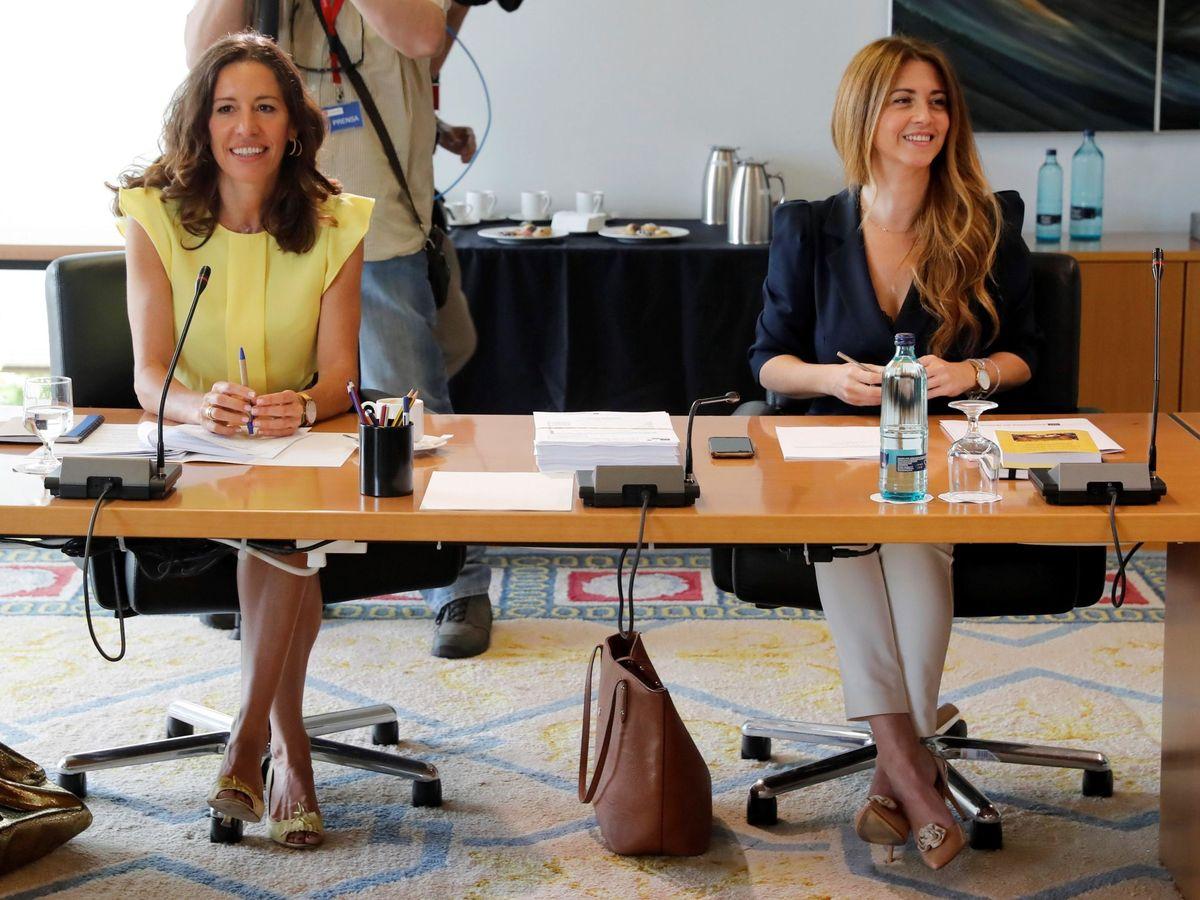 Foto: Esther Ruiz, a la derecha de la imagen. (EFE)
