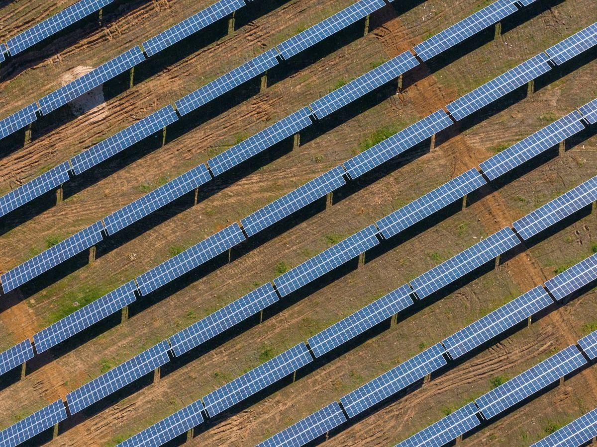 Foto: Una de las plantas solares del grupo andaluz en España. (Prodiel)