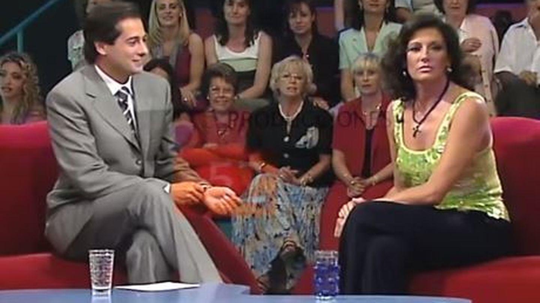 Carmina Ordóñez en el programa 'Tómbola'.