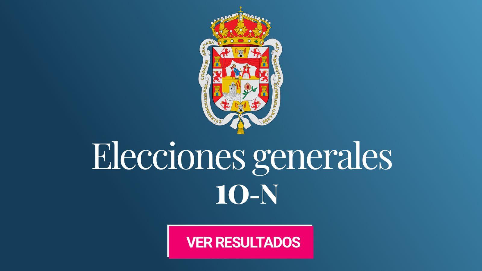 Foto: Elecciones generales 2019 en Granada. (C.C./EC)
