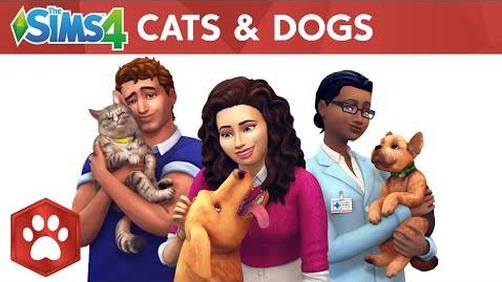 Los Sims 4: perros y gatos.