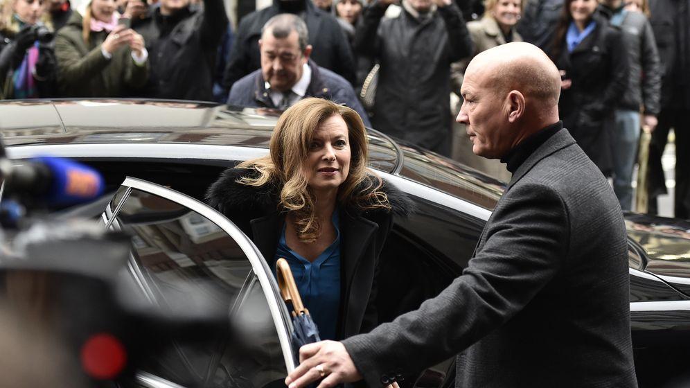 Foto: La expareja del presidente francés, Francois Hollande, la periodista Valérie Trierweiler (Reuters)