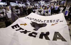 La Guardia Civil exige prohibir la manifestación proetarra de Bilbao