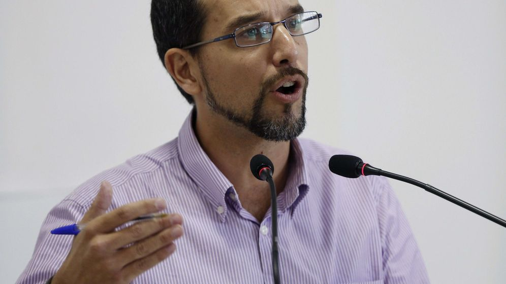Foto: El secretario de Organización de Podemos, Sergio Pascua. (EFE)