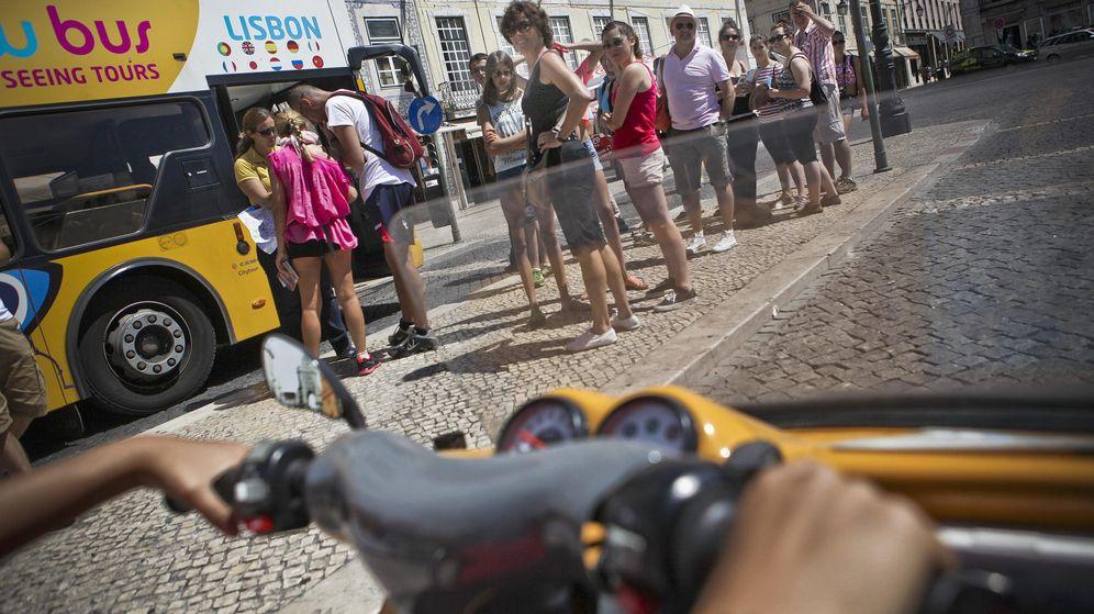 Foto: Turistas en Lisboa. (EFE)