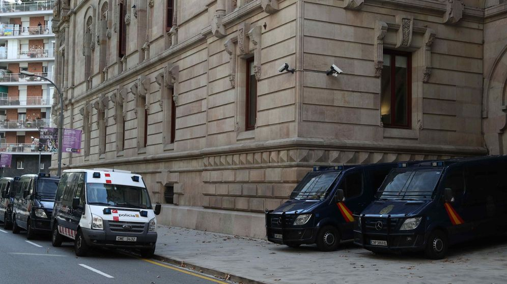 Foto: Tsjc cede a policÍa nacional la custodia del edificio, con los mossos a su mando