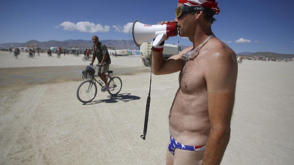 Una rave a cincuenta grados: las mejores imágenes del 'Burning Man'