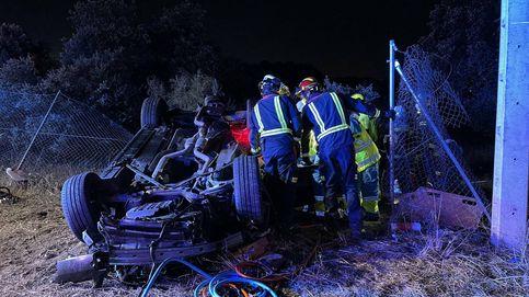 Muere un joven de 24 años tras salirse su coche de la carretera en Valdemorillo (Madrid)