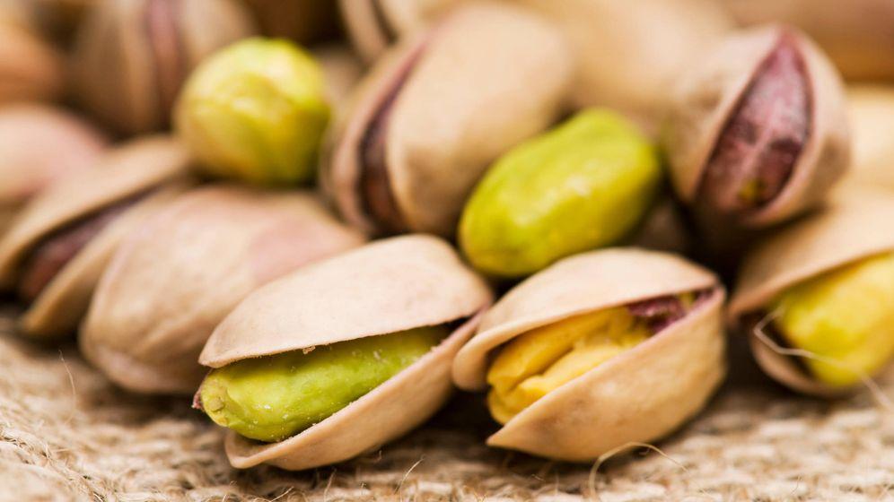 Foto: Los pistachos están en la lista de alimentos ricos en hierro.