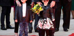 Post de Jacques y Gabriella, dos pequeños 'rockeros' en su último acto oficial