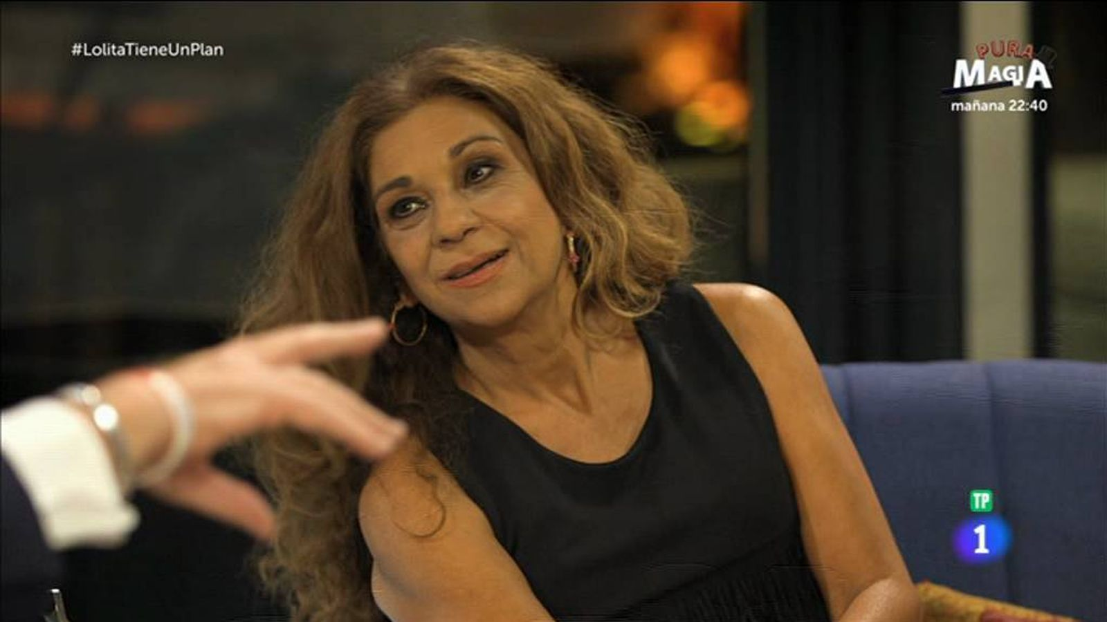 Foto: Lolita Flores en 'Lolita tiene un plan'. (RTVE)