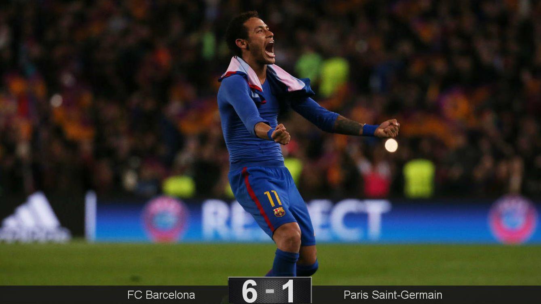 Foto: Neymar fue el mejor en un día histórico. (Reuters)