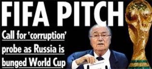 Foto: La prensa europea, indignada con FIFA; en Rusia se sorprenden del regalo inmerecido