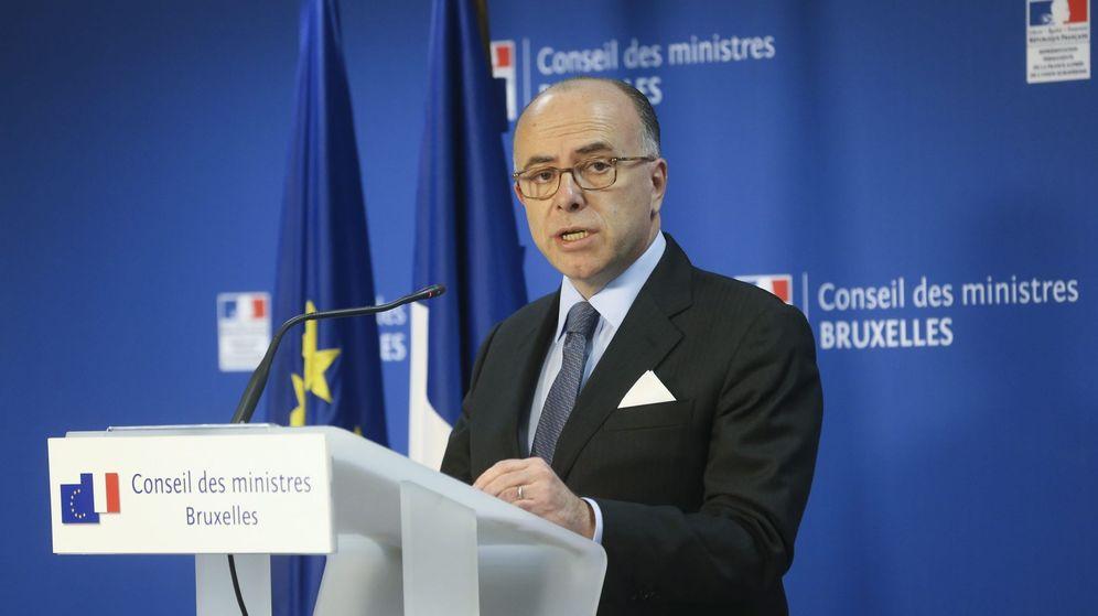 Foto: El ministro francés del Interior, Bernard Cazeneuve. (EFE)