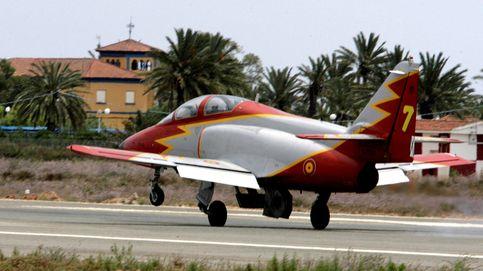 Mueren el instructor y la alumna en el accidente de avión del Ejército en Murcia