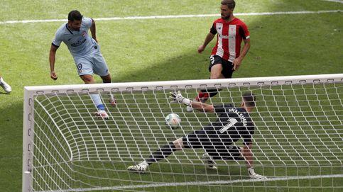 Simón baja de la nube al Atleti: la nueva normalidad no da para ganar en Bilbao (1-1)
