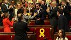 Roger Torrent, elegido presidente del Parlament en un sesión tranquila