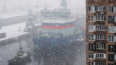 El rompehielos nuclear más grande del mundo regresa a San Petersburgo