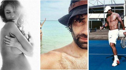 Contra el frío, mucha piel: del embarazo de Silvia Abascal al desnudo de Roberto Leal