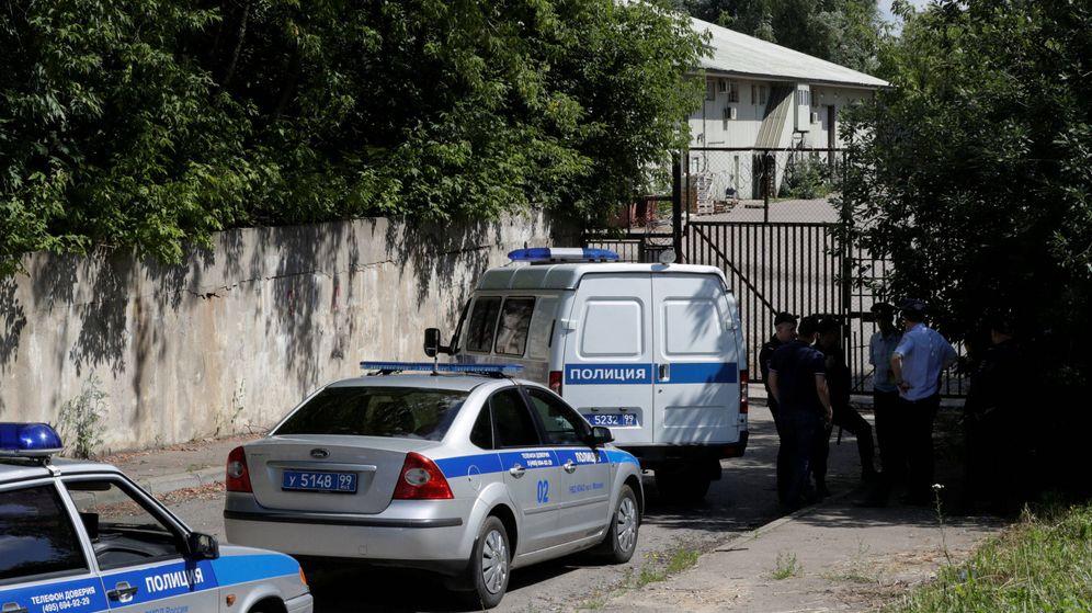 Foto: Imagen de archivo de la policía rusa. (Reuters)
