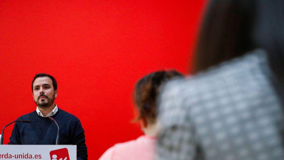 IU se abre a un acuerdo programático con el PSOE sin entrar en el Gobierno