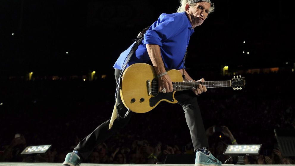 Keith Richards saca disco en solitario dos décadas después