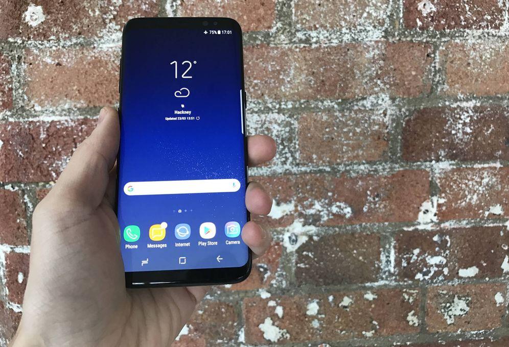 Foto: Samsung Galaxy S8. (J. E.)