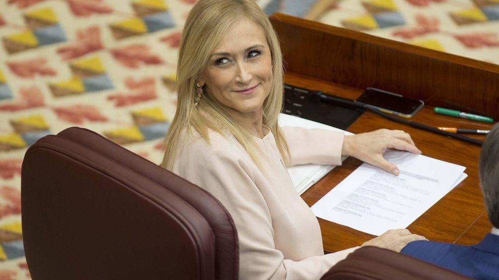 Foto: Cristina Cifuentes, presidenta regional.