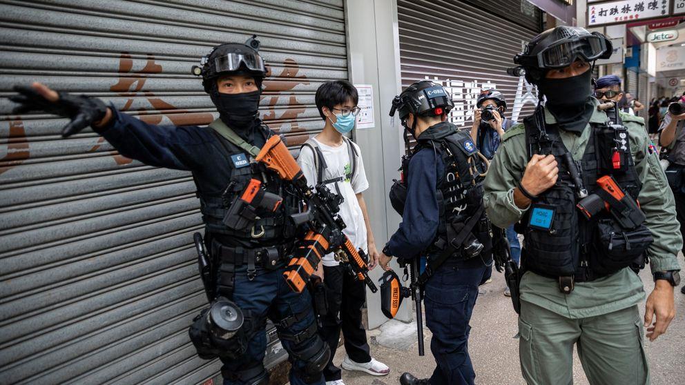 Más de 300 arrestados en Hong Kong en el estreno de su polémica Ley de Seguridad