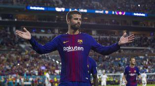Piqué, tápate los oídos: si te pitaron en el tenis de Madrid... y a Ramos le pareció bien