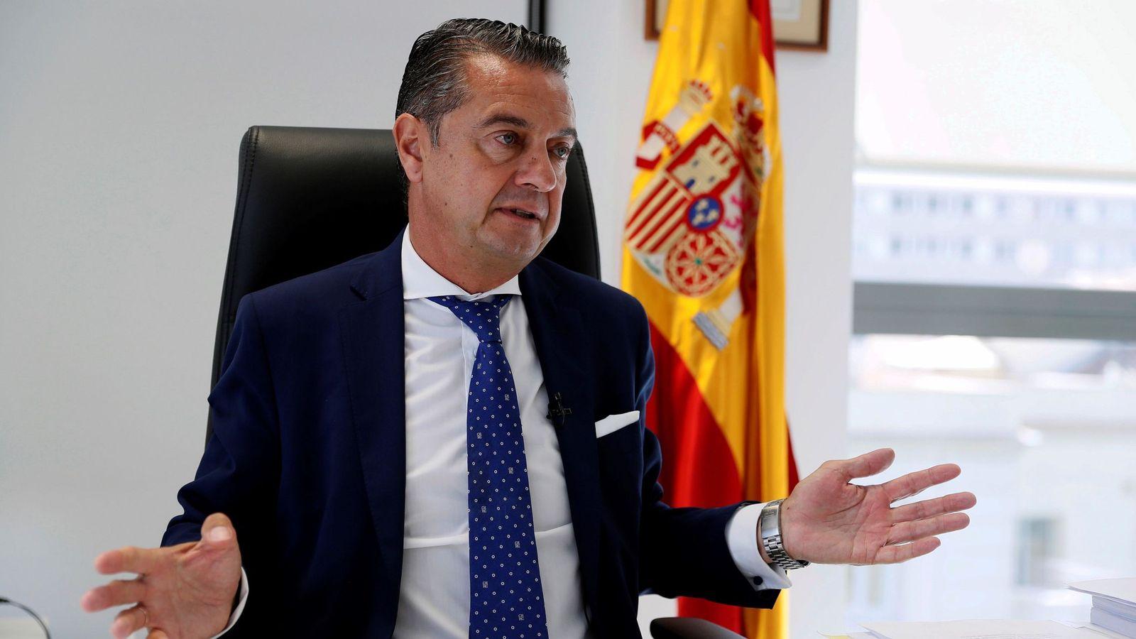 Foto:  El portavoz de la Fiscalía de la Audiencia Nacional, Miguel Ángel Carballo. (EFE)