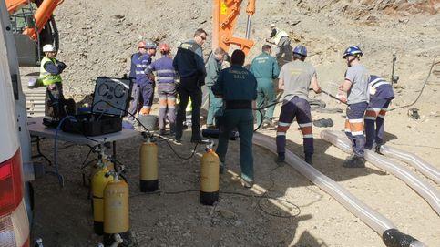 Última hora del rescate de Julen: los mineros avanzan dos metros en la galería del pozo