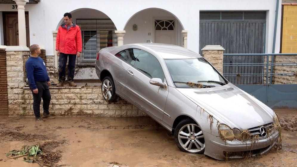 Foto: Daños en Campillos (Málaga) por las inundaciones. (EFE)