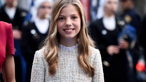 La infanta Sofía, a los 14 años: su antojo, su DNI, unas gafas misteriosas y otras curiosidades