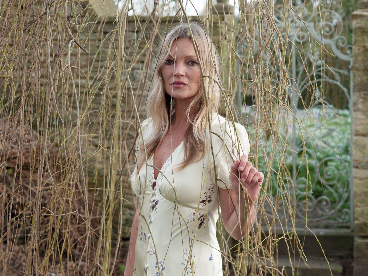Foto: Kate Moss. (Imagen: Self-Portrait)