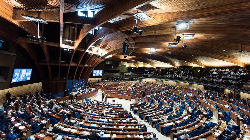 Foto: Sesión del Consejo Europeo en Estrasburgo. (EFE)