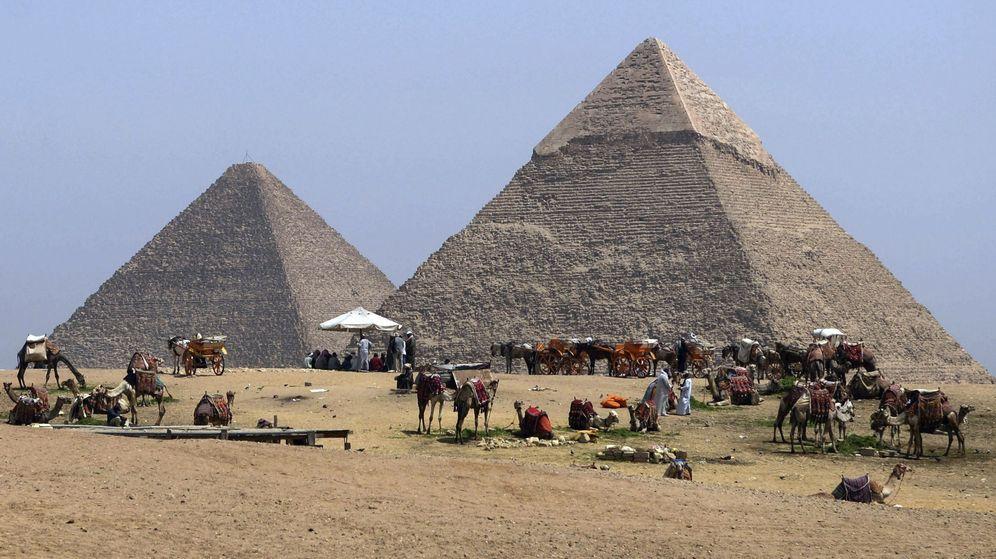 Foto: La Gran Pirámide de Keops en Guiza. (Egipto)