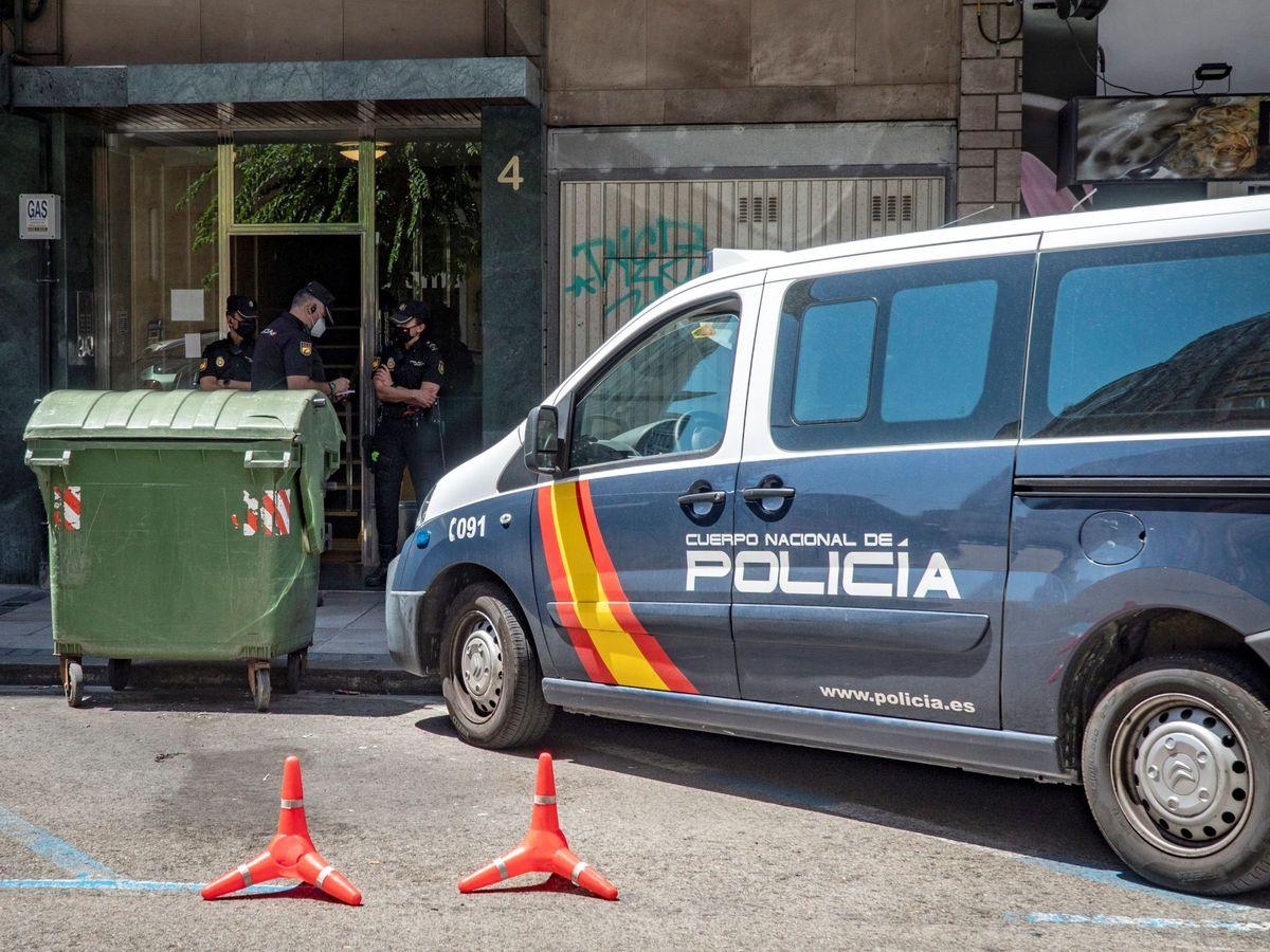 Foto: Miembros de la Policía Nacional. (EFE)