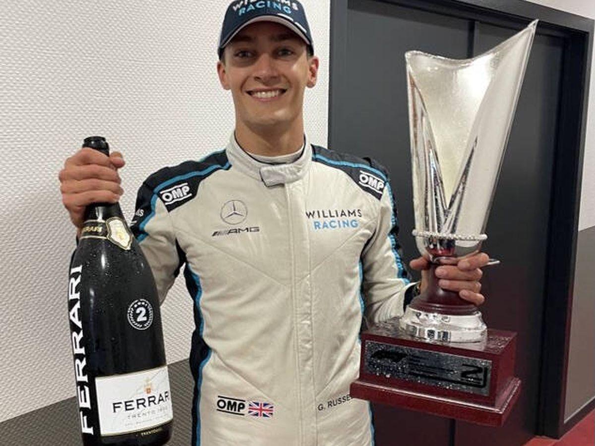 Foto: A Russell le distinguirá el singular hito de lograr su primer podio en la F1 en una carrera que no existió