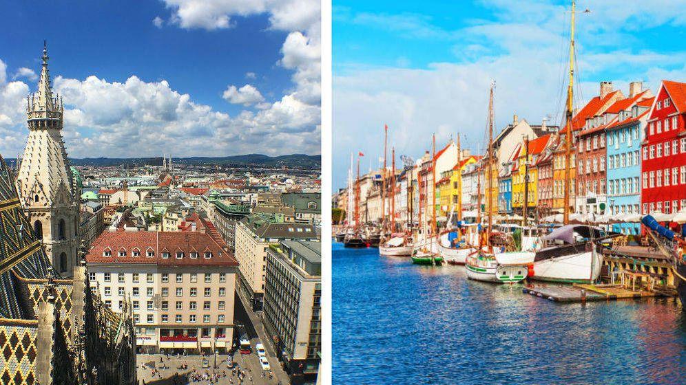Foto: Viena y Copenhague, las mejores ciudades europeas para vivir