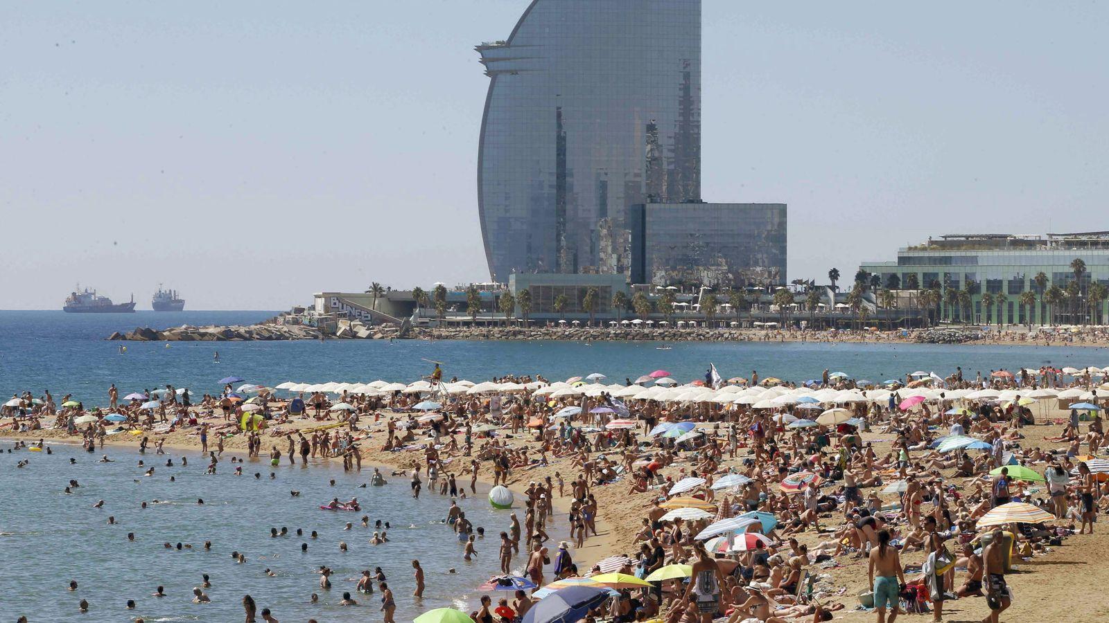 Foto: Playas de Barcelona. (EFE)