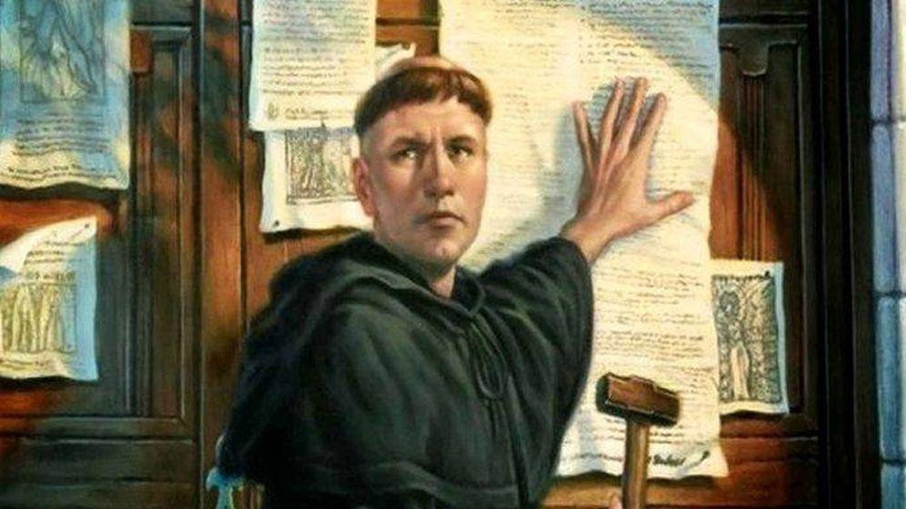 Foto: Martín Lutero.