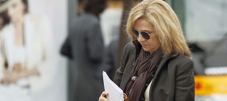 Foto: Foto de archivo de la infanta Cristina, a su llegada a la sede central de la Caixa. (EFE)