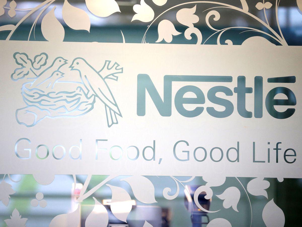 Foto: Logo de Nestlé. (Reuters)
