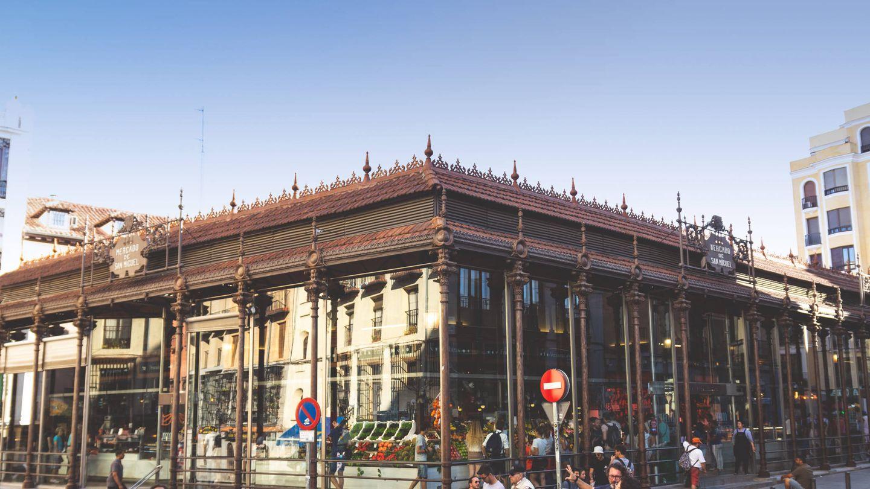 Vista exterior del mercado.