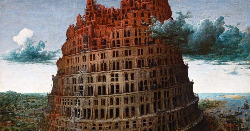 Foto: No es una accidente que en la historia bíblica de la Torre de Babel se presente el plurilingüismo como una maldición divina. (cuadro de Pieter Brueghel el Viejo / Corbis)