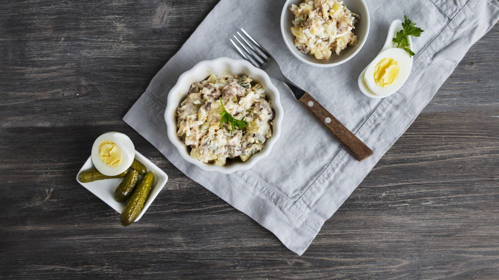 Foto: Esta ensalada acepta muchos ingredientes. (iStock)