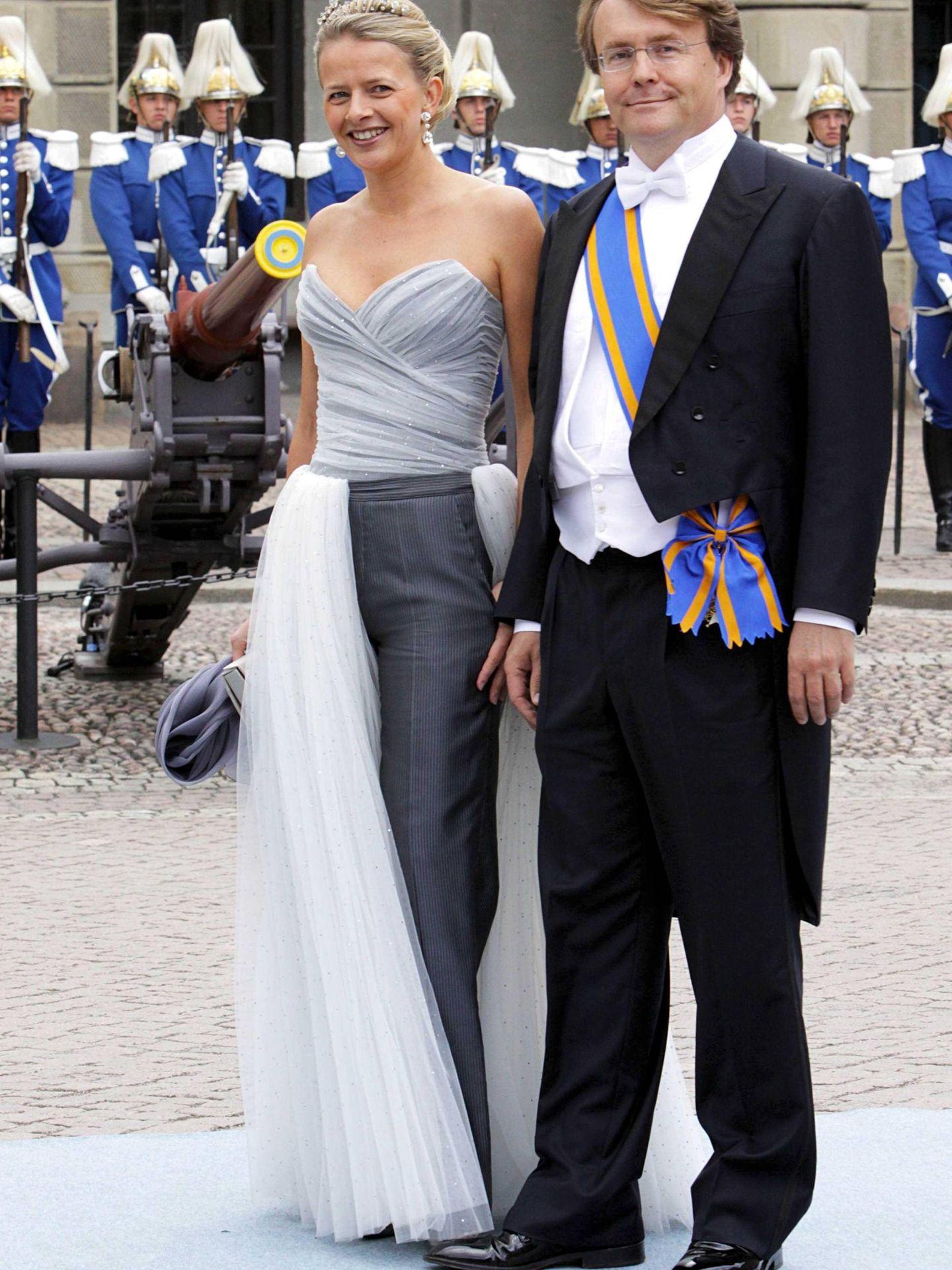 La princesa Mabel y el desaparecido príncipe Friso de Holanda. (Cordon Press)