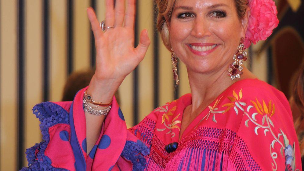 Foto: La reina Máxima en Sevilla. (Lagencia Grossby)