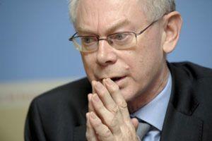 Rompuy anuncia un acuerdo para salir al rescate de Grecia